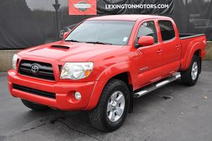 2007 Toyota Tacoma SR5 TRD Off Road Package V6 4X4 Double Cab