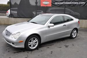 2002 Mercedes-Benz C230 Coupe Kompressor