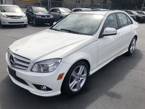 2009 Mercedes-Benz C300 Sport 3.0L 4Matic
