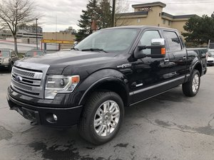 2014 Ford F150 4WD SuperCrew Platinum 3.5L Ecoboost