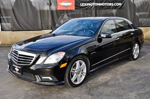 2010 Mercedes-Benz E350 4Matic AMG Package
