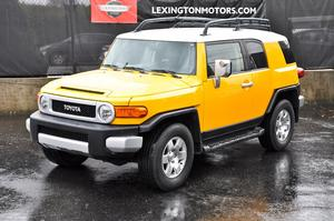 2007 Toyota FJ Cruiser TRD Package 4X4